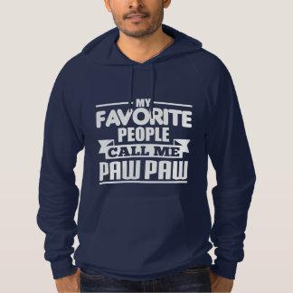 My Favorite People Call Me Paw Paw Hoodie