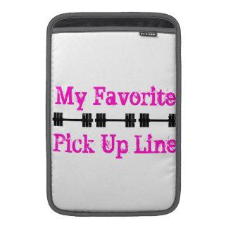 My Favorite Pick Up Line MacBook Sleeve