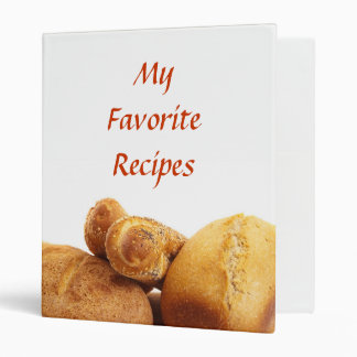 My Favorite Recipes Binder
