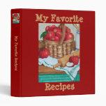 My Favorite Recipes - Binder Binder