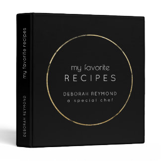 my favorite recipes binder book