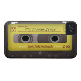 My Favorite Songs Cassette Tape Case Cover Case-Mate iPhone 4 Cases