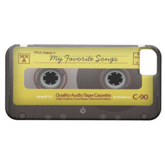 My Favorite Songs Cassette Tape Case Cover iPhone 5 Case