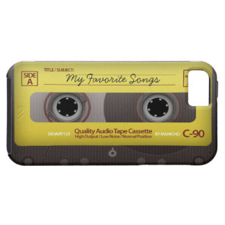 My Favorite Songs Cassette Tape Case Cover iPhone 5 Cases