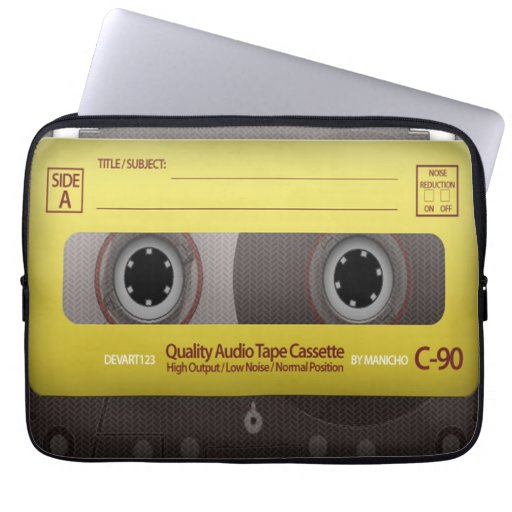 My Favorite Songs Cassette Tape Case Cover Laptop Computer Sleeves