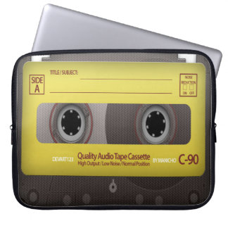 My Favorite Songs Cassette Tape Case Cover Laptop Computer Sleeve