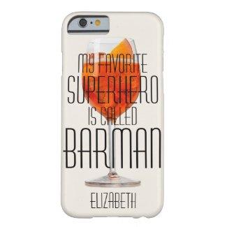 My favorite superhero is called Barman Custom