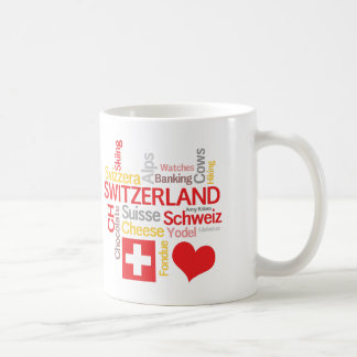 My Favorite Swiss Things Funny Coffee Mug