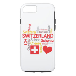 My Favorite Swiss Things Funny iPhone 8/7 Case