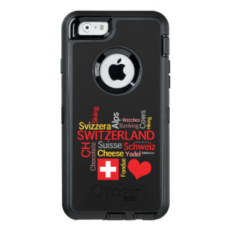 My Favorite Swiss Things Funny OtterBox Defender iPhone Case
