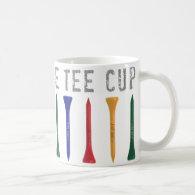 My Favorite Tee Cup Golf Gift Coffee Mug