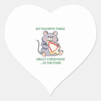 My Favorite Thing Heart Sticker