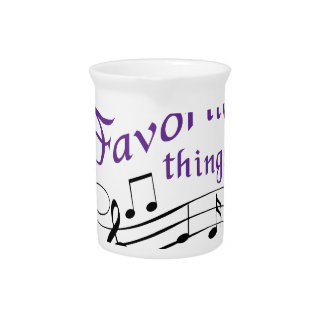 My Favorite Things Beverage Pitcher