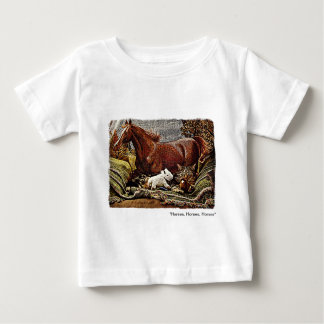 """""""My Favorite Things"""" Cat with Toy Horses Tees"""