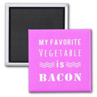 My Favorite Vegetable? Bacon! Magnet