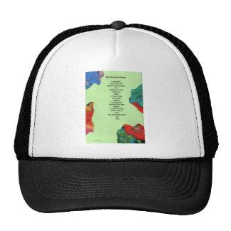 my favourite poem mesh hat