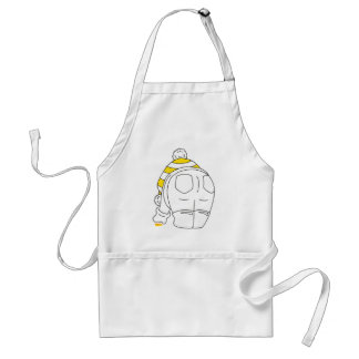 My favourite sea glass is yellow adult apron