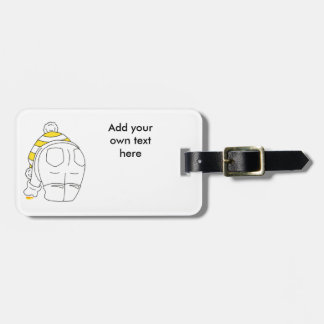 My favourite sea glass is yellow bag tag