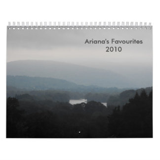 My Favourites Calendar 2010