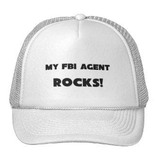 MY Fbi Agent ROCKS! Mesh Hats