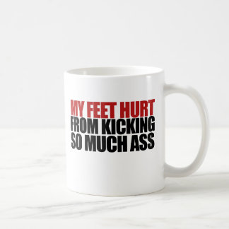 My Feet Hurt Coffee Mug