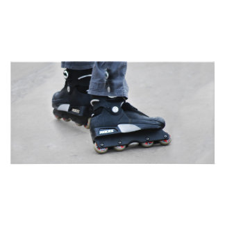 My Feet Roller Blades Card
