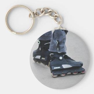My Feet Roller Blades Keychain