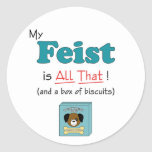 My Feist is All That! Stickers