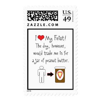 My Feist Loves Peanut Butter Postage