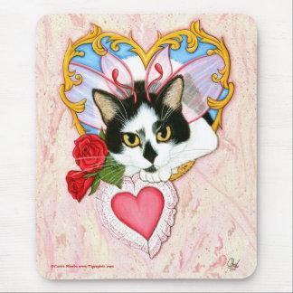 My Feline Valentine Cat Mousepad