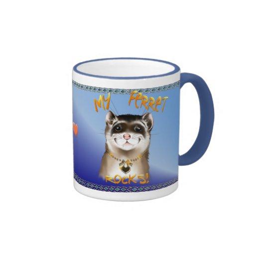 My Ferret Rocks Mug