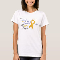 My Fiancé An Angel - Appendix Cancer T-Shirt