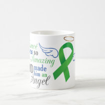 My Fiancé An Angel - Bile Duct Cancer Coffee Mug