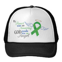My Fiancé An Angel - Bile Duct Cancer Trucker Hat