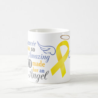 My Fiancée An Angel - Bladder Cancer Coffee Mug