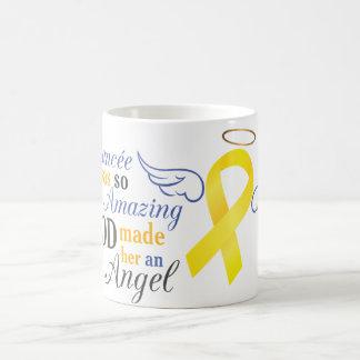 My Fiancée An Angel - Bladder Cancer Classic White Coffee Mug