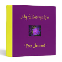 My Fibromyalgia Pain Journal-Binder Binder