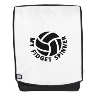 My Fidget Spinner Volleyball Gift  Men Women Coach Backpack