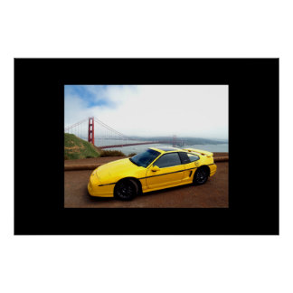 My Fiero GT at the Gate Poster