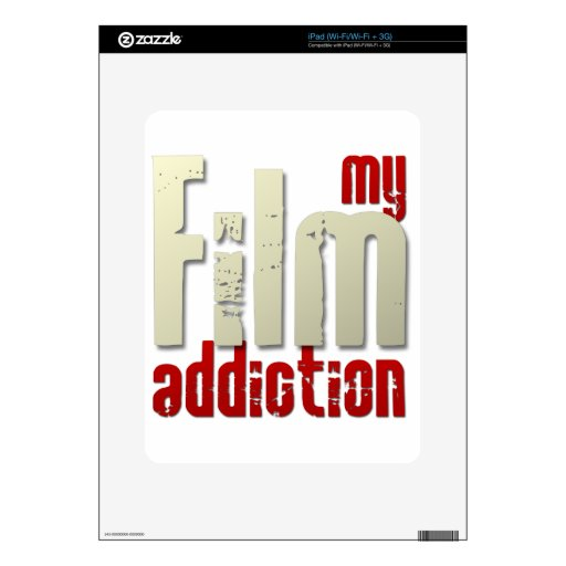 My Film Addiction iPad Decal