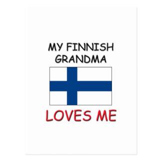 My Finnish Grandma Loves Me Postcard