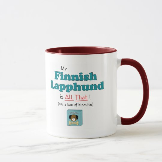 My Finnish Lapphund is All That! Mug