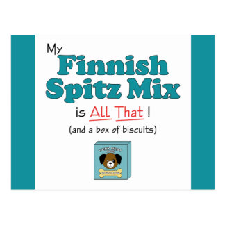 My Finnish Spitz Mix is All That! Postcard