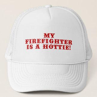 My Firefighter is a Hottie Trucker Hat