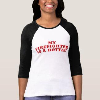 My Firefighter is a Hottie Tee Shirt