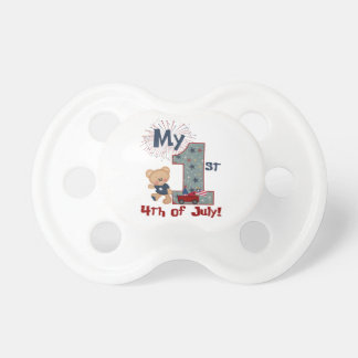 My first 4th of July bear pacifier