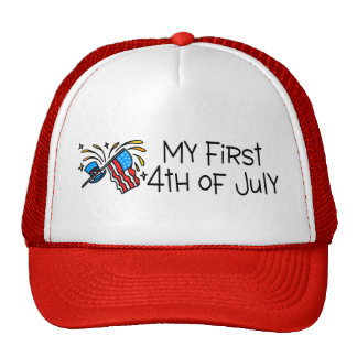 My First 4th Of July Trucker Hat