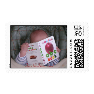 My first ABC Book- stamp
