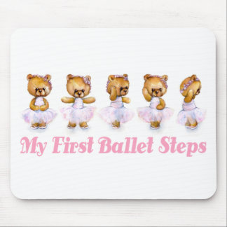 My First Ballet Steps Mousepad