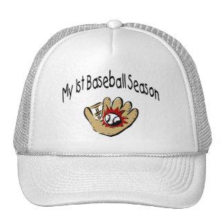 My First Baseball Season Trucker Hat